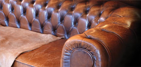 Sofa Leather Banner